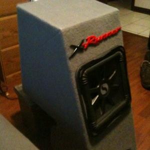 Custom sub box Kicker L7
