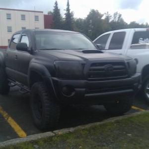 Murdered Out Tacoma