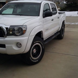my new 2011 super white Tacoma TX PRO