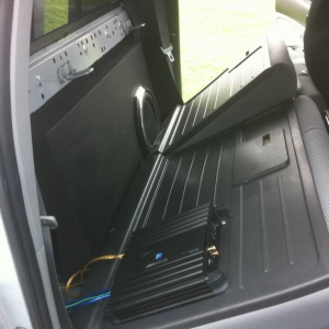new sub and amp by Mr Marv