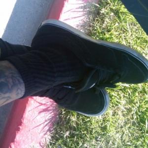 I <3 black socks