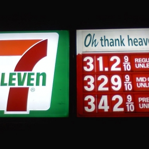 Holy sheeet! Gas prices are high, but GTFO!