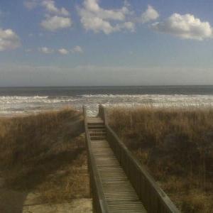 Got here thursday topsail beach NC