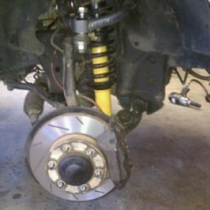 Ome in.....rotors turned and Wagner thermoquiets in. About to install the r