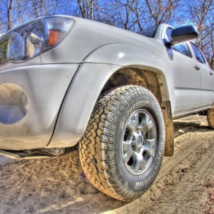 2010 Tacoma TRD Off Road in HDR