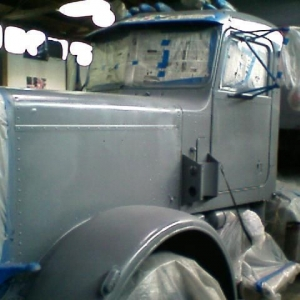 Just did my first primer job. gettin ready to paint:)