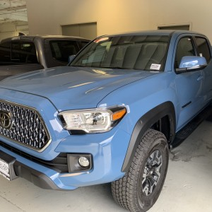 2019 Calvary Blue Tacoma TRD Off Road