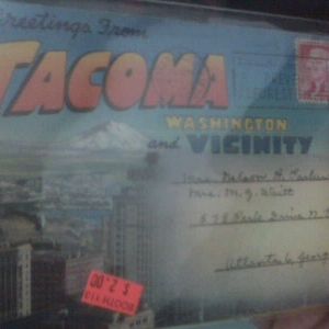 At the antique mall this reminded me of TW