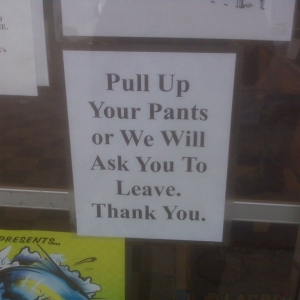 This was on the door of my local bait and tackle shop!! LOVE IT