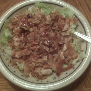 NOM NOM NOM Wonton Chicken Salad!!