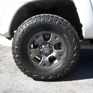 Gunmetal TRD Wheels