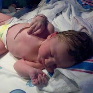 Baby jackson. Born at 11:01 am