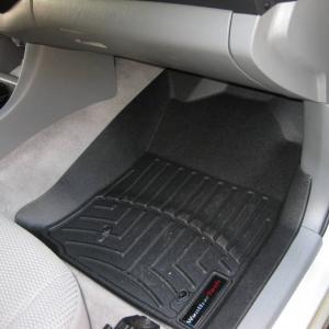 New WeatherTech floor mats...