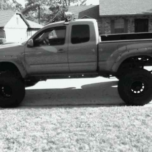 New 37 inch military tires and black rims