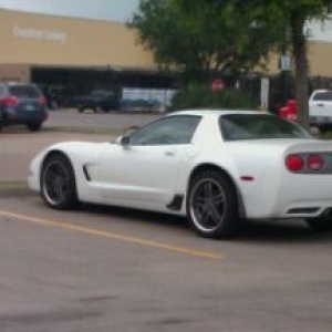 Somethings not right about this vette aside from the headlights.