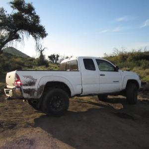 Jeep and Tacoma