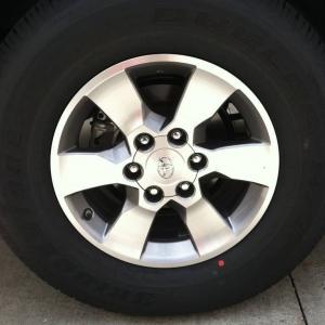 2011 SR5 4runner wheels