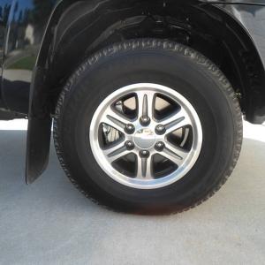"Toyota 16"" extramile wheels"