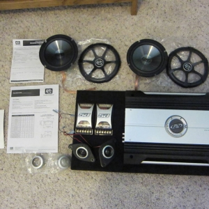 Sound System Components for Sale 1