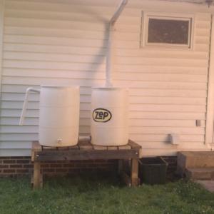 Rain barrels I just finished.