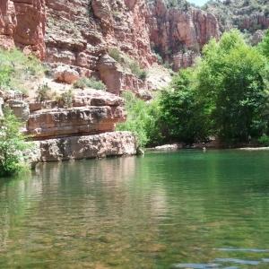 Sycamore canyon swim hole
