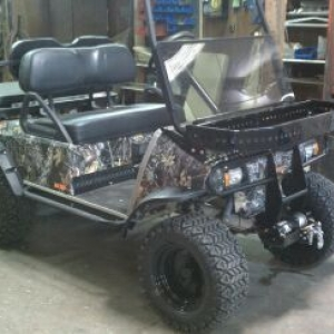 """Our """"silent stalker"""" golf cart line we are starting/building at w"""