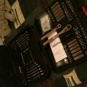 Fathers day present from my pops, craftsmans mechanic tool set awesome