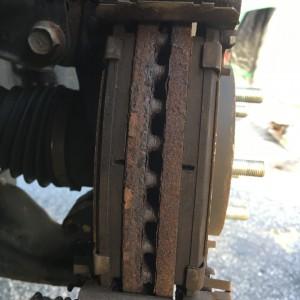 7mm on brake pads