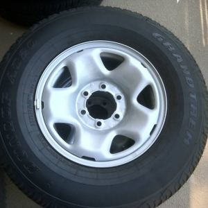 Stock tires and wheels