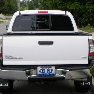 White Taco rear