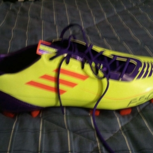 New f50s, extremely light. Like wearing socks