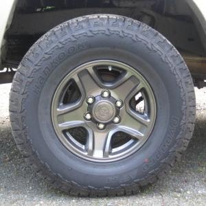 Powder coated 4 Runner 5 Star wheels