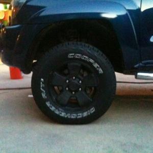 New cooper tires