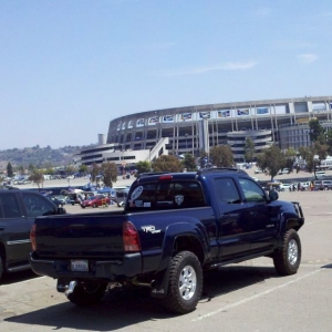 Tailgating practice....Chargers v. Seahawks.