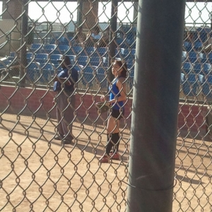 Coed softball ... gotta love it!
