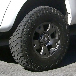 TRD Rims and Hankook MT's for Sale