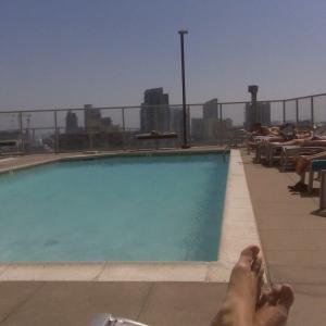 Poolside in San Diego!