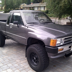 My 88 Toyota Pickup 4x4