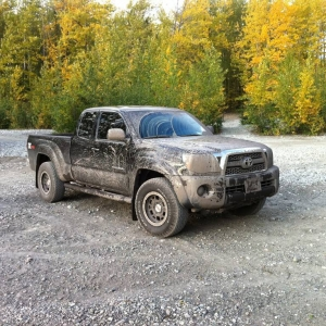 other side of muddy day