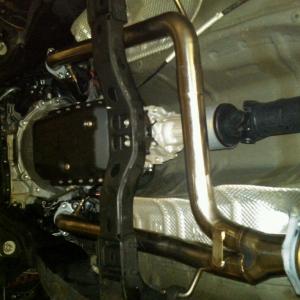 Installed URD y-pipe