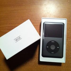 Ahh yeah! New 160gb iPod!
