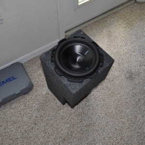 "Access Cab 10"" Sub box"