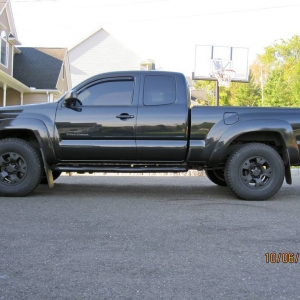 Blacked out Taco