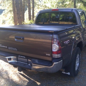 Extang Solid Fold install on 2011 Double cab with rails