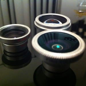 Fisheye,Wide-Angle/Macro, 2x Telephoto iPhone lens!