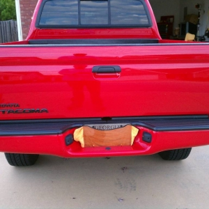 Tailgate Badge Install
