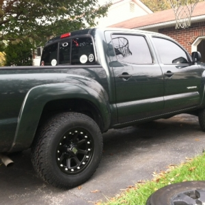 General Grabber 265/65/17 and 17x9 XD Addicts