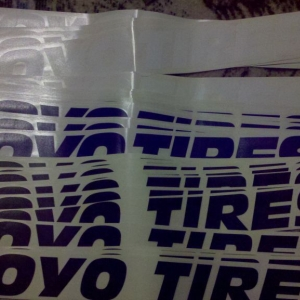 Wow Toyo hooked it up! 10 blue, 10 black and 6 white...
