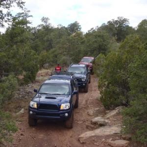 Glorieta Mesa Run October 2011
