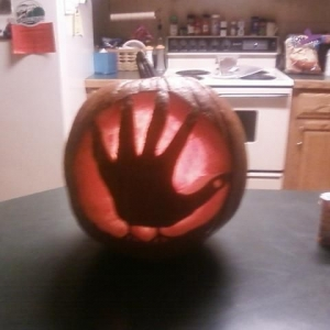 The punkin i carved
